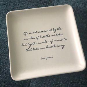 Decorative Jewelry Dish/Plate